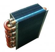 铜管铝翅片散热器