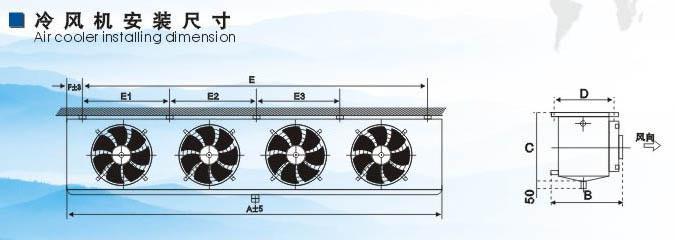 CAS 系列农业型冷风机